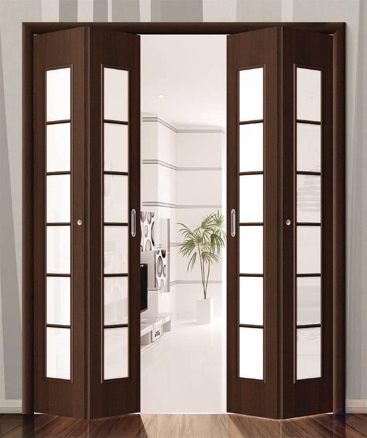 Нестандартные межкомнатные конструкции: делаем дверь-гармошку своими руками