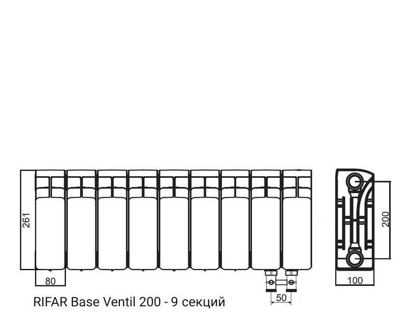 Особенности радиаторов отопления rifar и критерии их выбора
