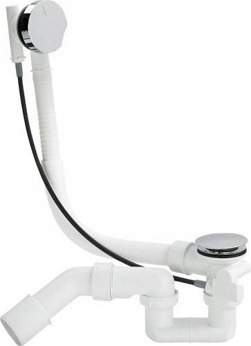 Как выбрать и установить сифон с системой слив перелив для ванны