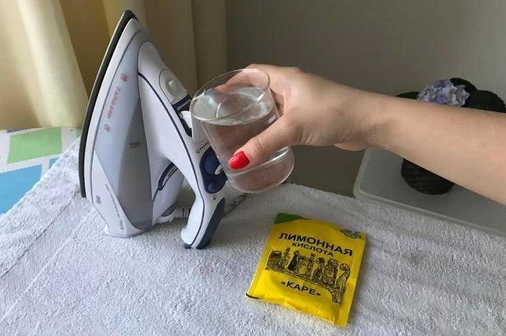 Чем очистить утюг в домашних условиях от накипи, нагара, пригоревшей ткани
