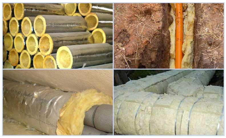 Теплоизоляция для труб водоснабжения: обзор утеплителей