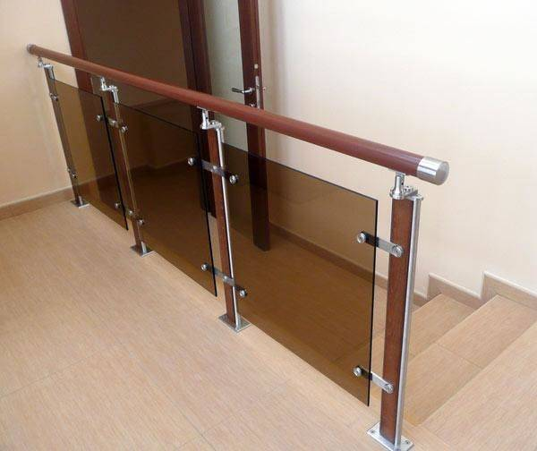 Перила для лестницы (57 фото): удобно, безопасно и привлекательно - happymodern.ru