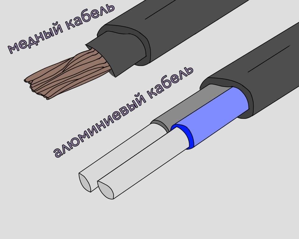 Какой кабель лучше медный или алюминиевый - электрик