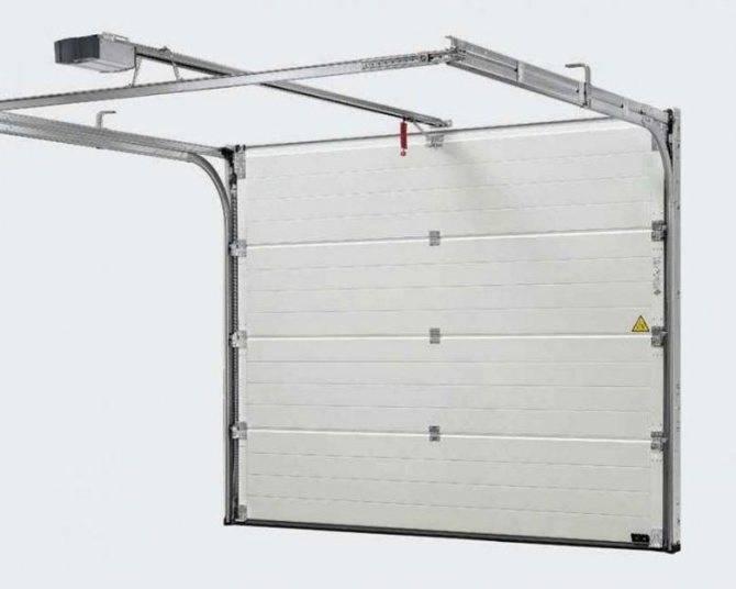 Как выбрать гаражные секционные ворота, важные критерии