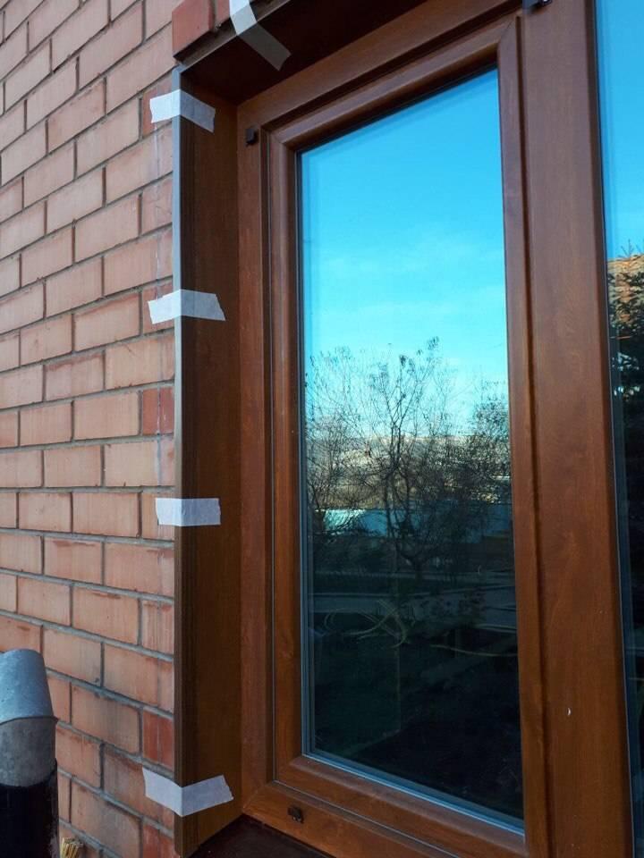Откосы на окна в деревянном доме: как отделать своими руками