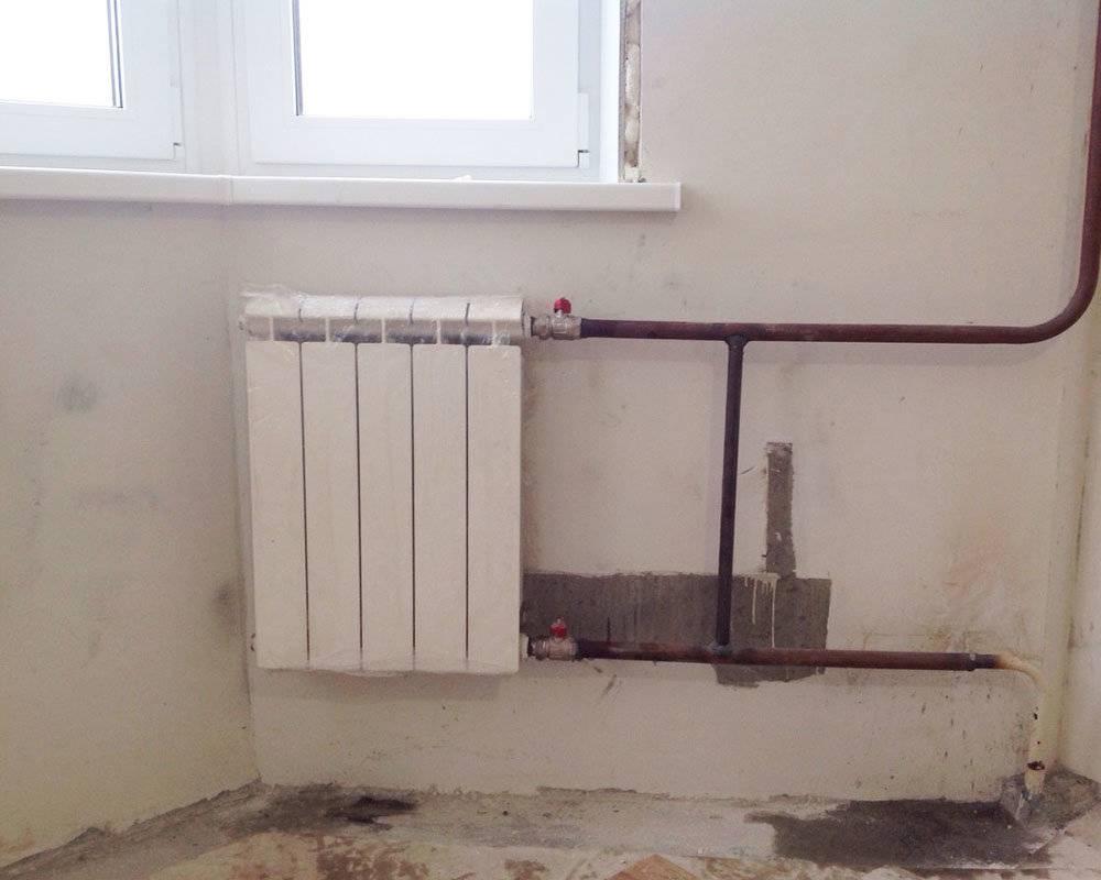 Радиаторы отопления и их монтаж в частном доме и квартире