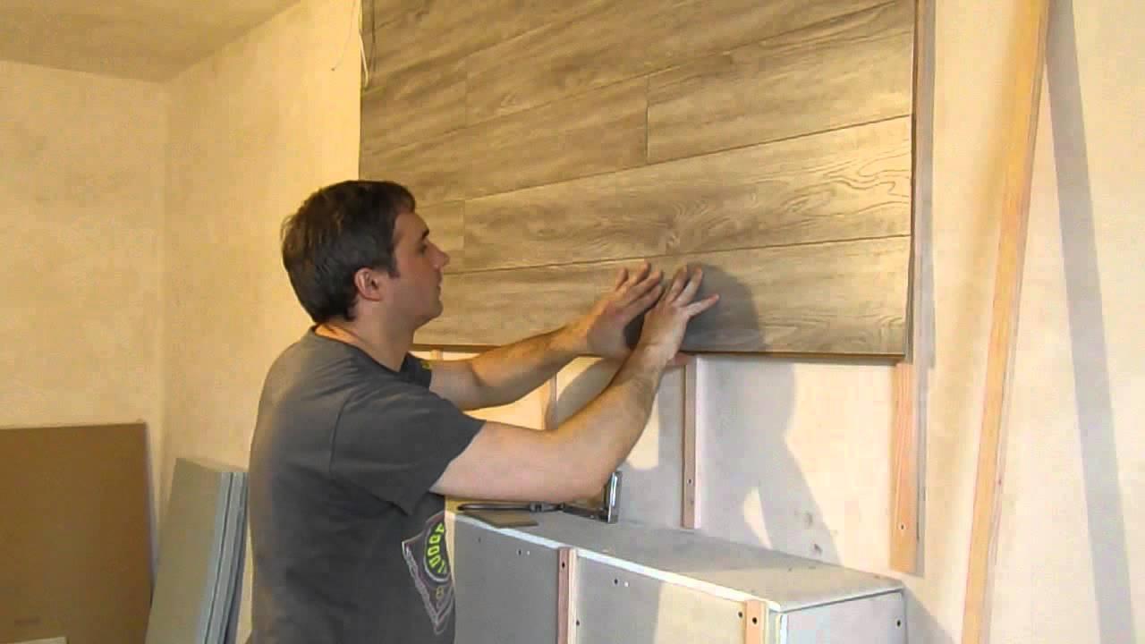 Укладка ламината на стену своими руками: особенности отделки, пошаговая инструкция
