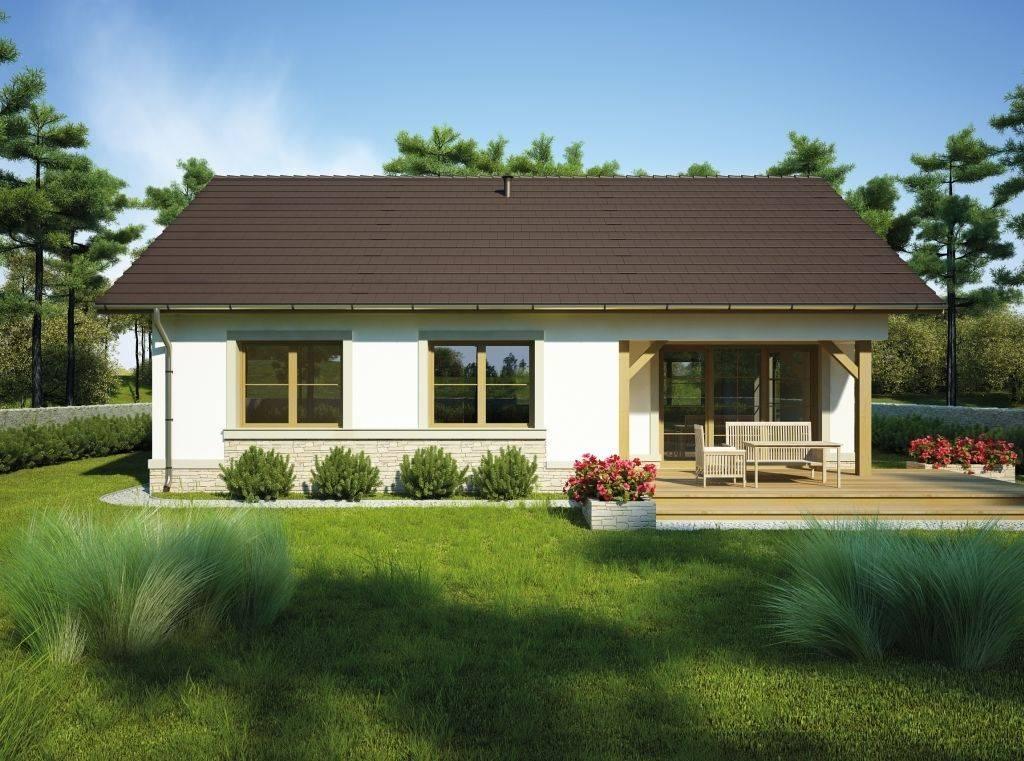 Хит проекты одноэтажных домов с террасой и верандой • 333+ фото • [артфасад]