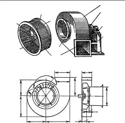 Разновидности вентиляторов улиток. как сделать вентилятор улитку своими руками