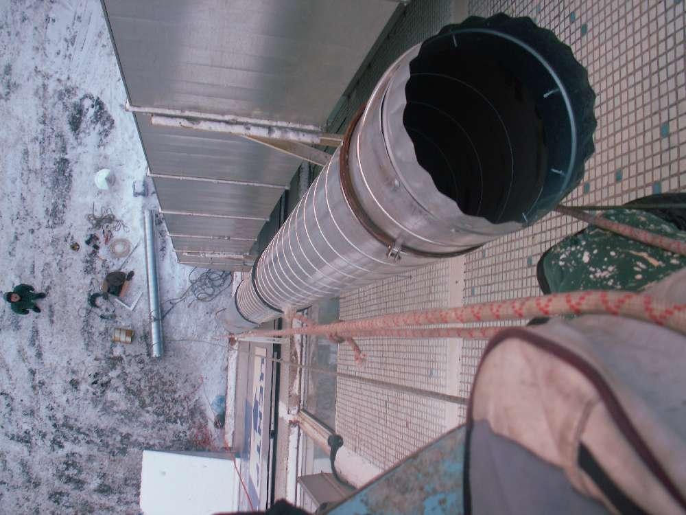 Способы крепления воздуховодов к потолку