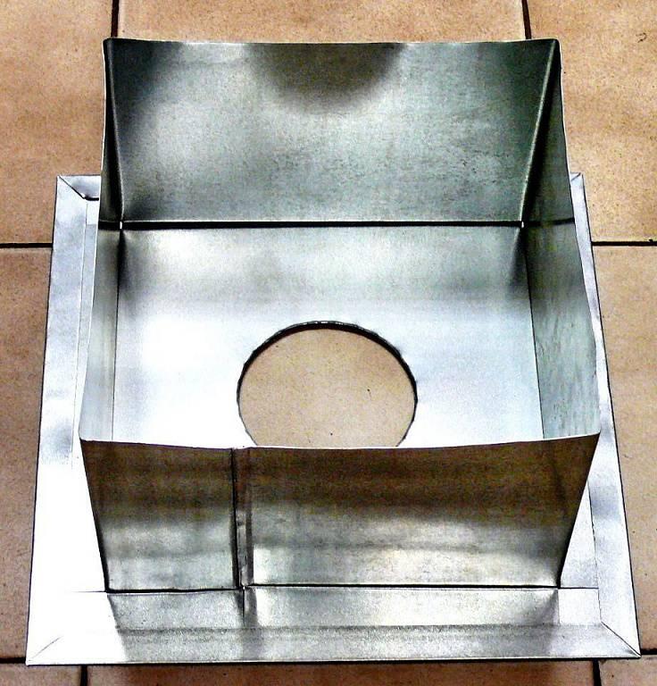 Проход трубы через потолок в бане - проходной узел, его устройство и габариты, как сделать своими руками, как изолировать дымоход, как вывести его на крышу