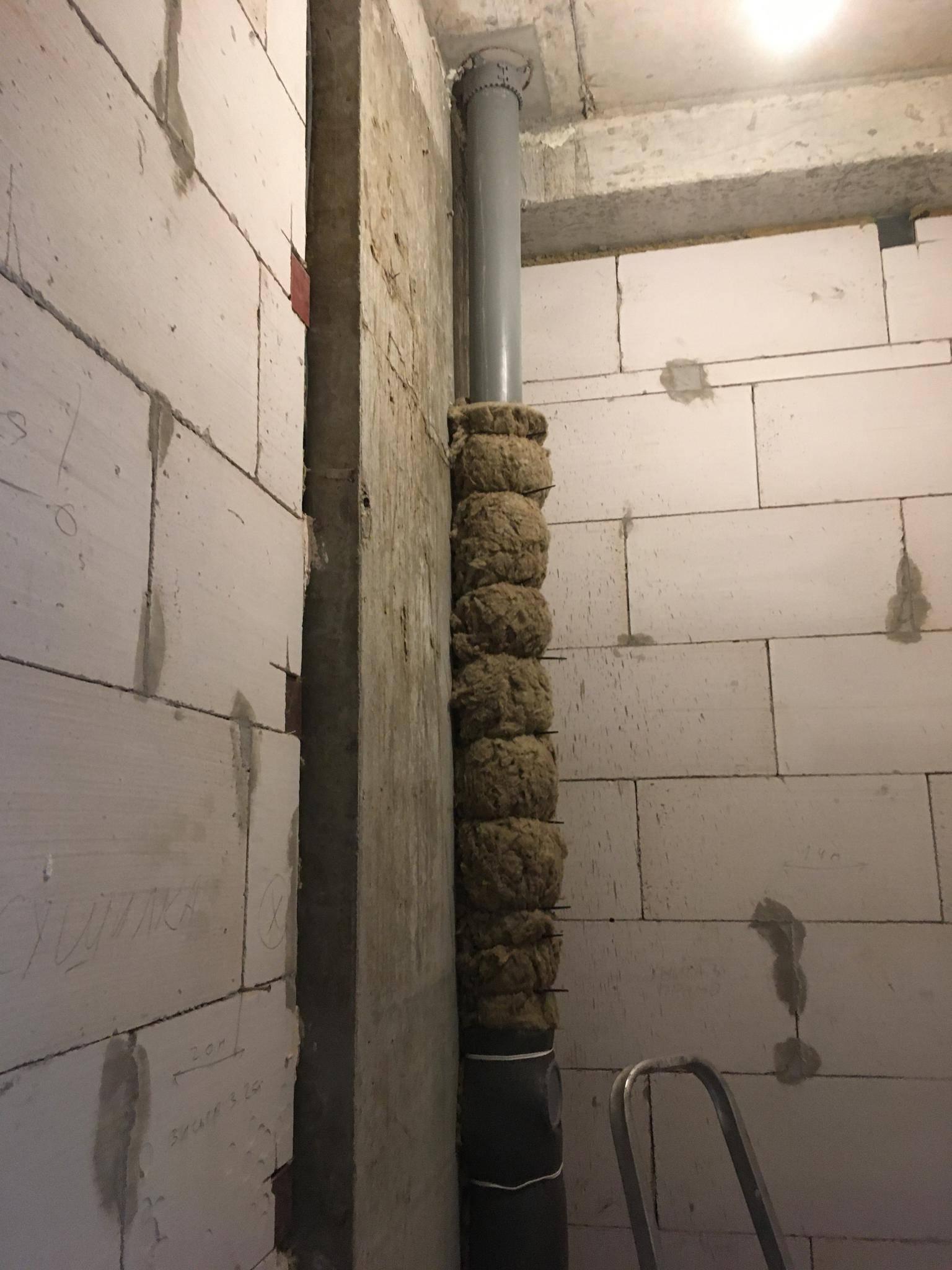 Шумоизоляция труб канализации своими руками - kanalizaciya-stroy
