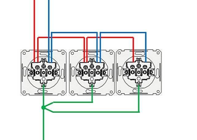 Как установить и подключить розетку к существующей электропроводке