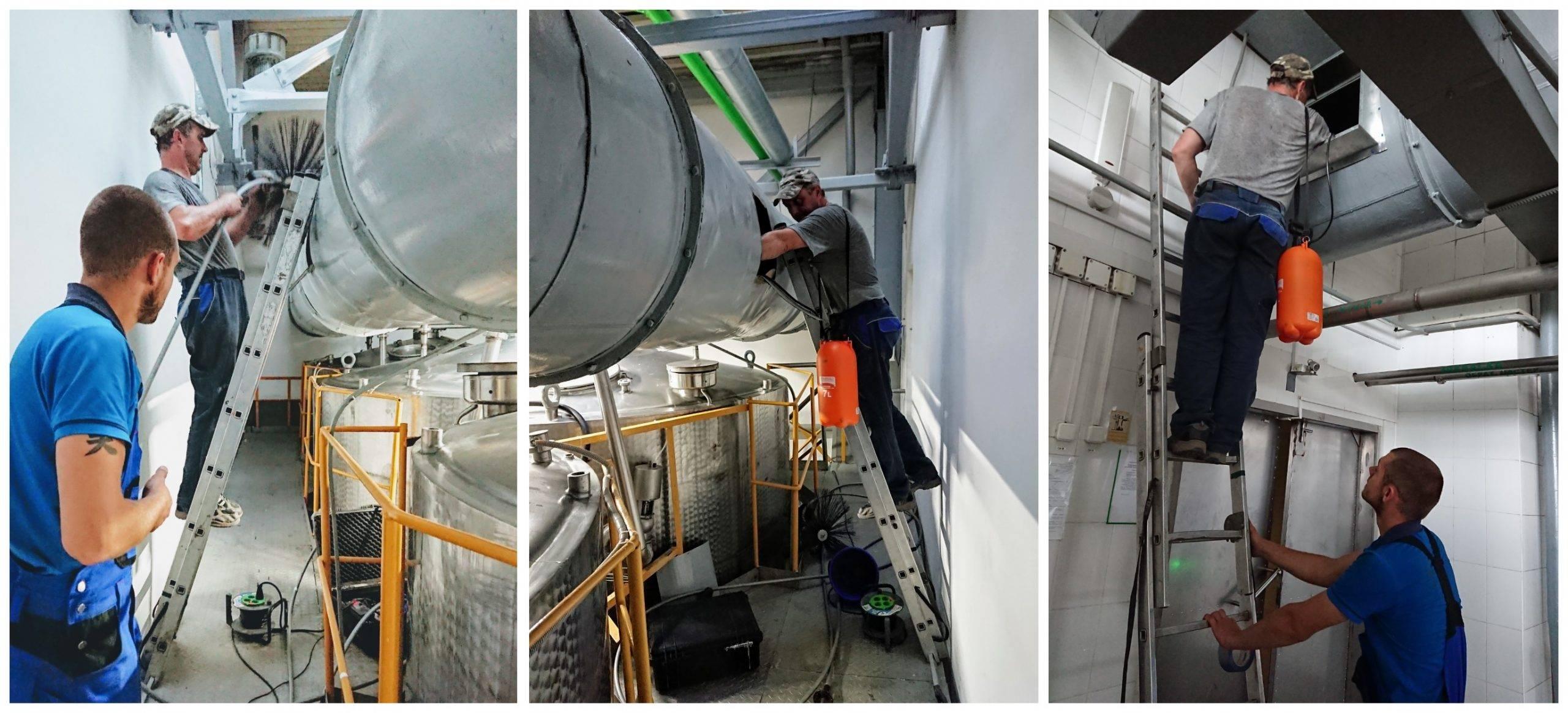 Как сделать дезинфекцию воздуховода в вентиляции- обзор и виды и инструкция +видео
