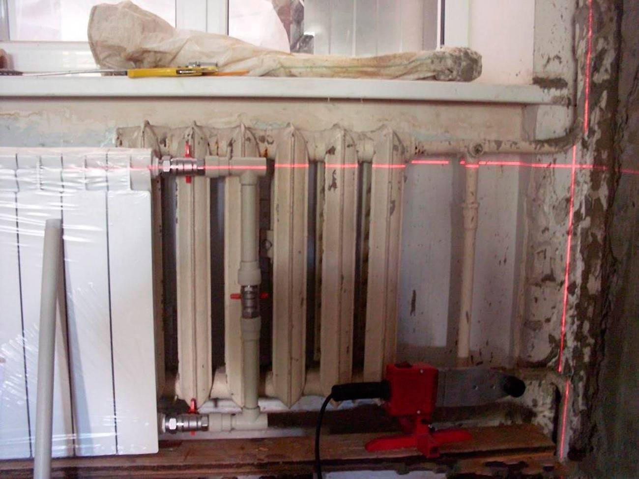 Замена батареи отопления в квартире: меняем чугун на биметалл