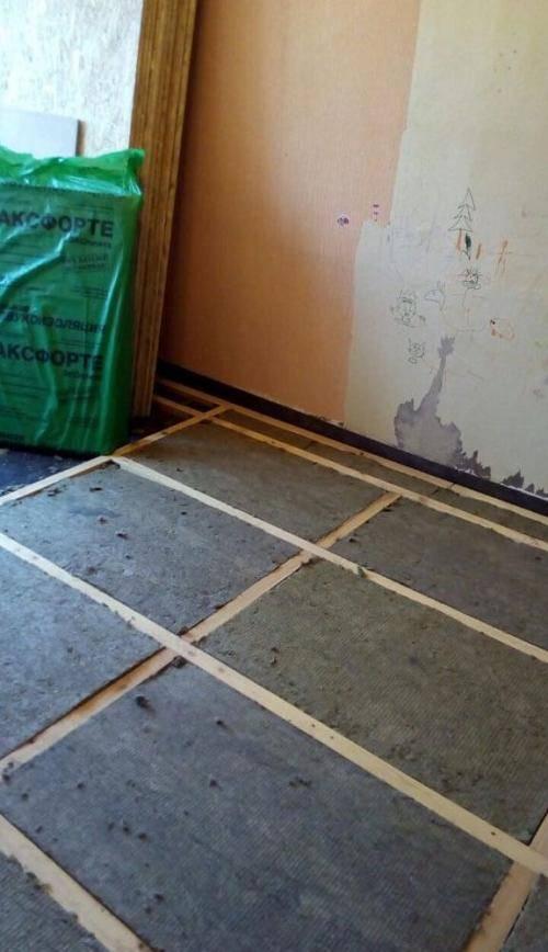 Утеплитель под линолеум для бетонного и деревянного пола: 2 варианта укладки    obustroeno.com — remont-om