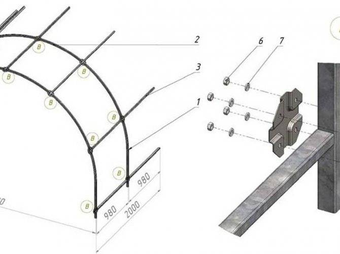 Как без сварки соединить крепежными элементами профильные трубы?