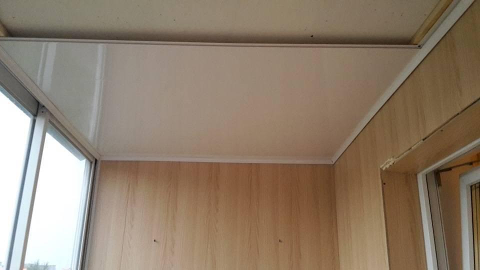 Самостоятельная отделка лоджии пластиковыми панелями: подробная инструкция