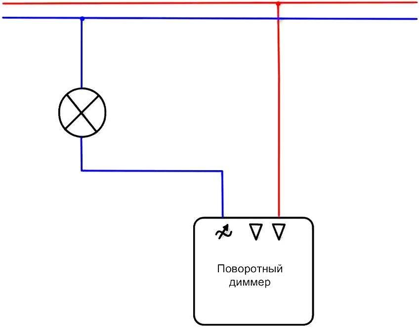 Как подключить диммер - описание применения и монтаж диммера (115 фото)