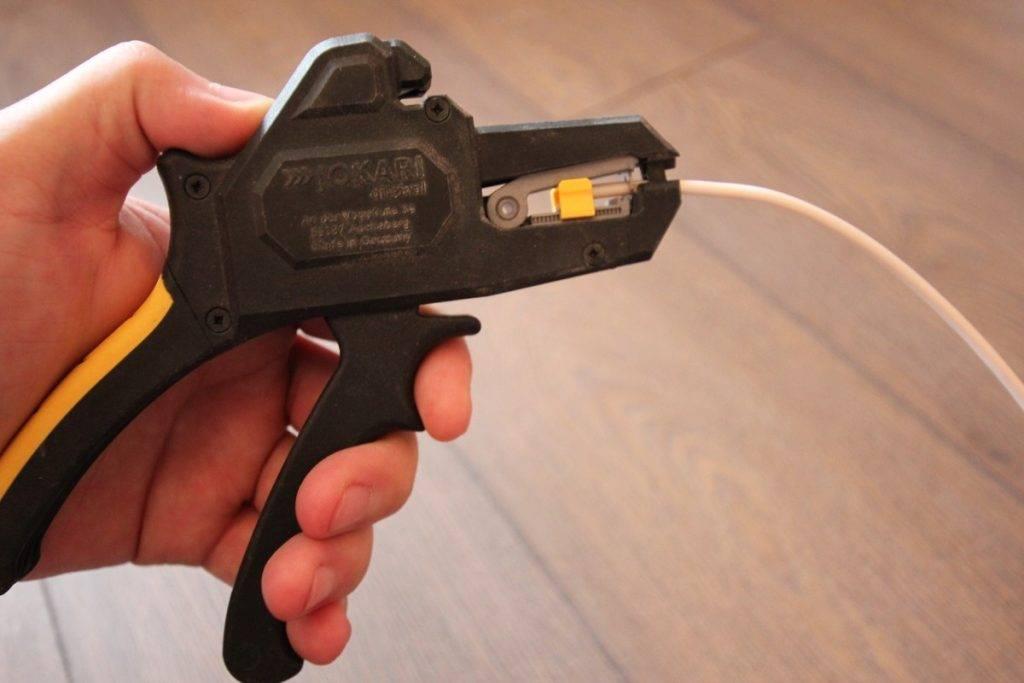 Способы очистки кабеля для сдачи на лом. как очистить медный провод от изоляции?