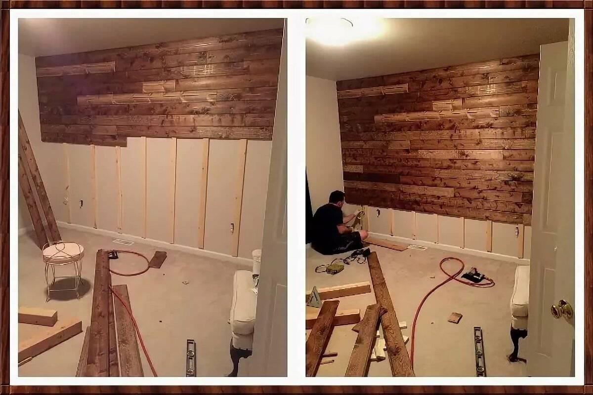 Отделка деревянного дома внутри своими руками: технологии, примеры, технические нюансы + (фото)