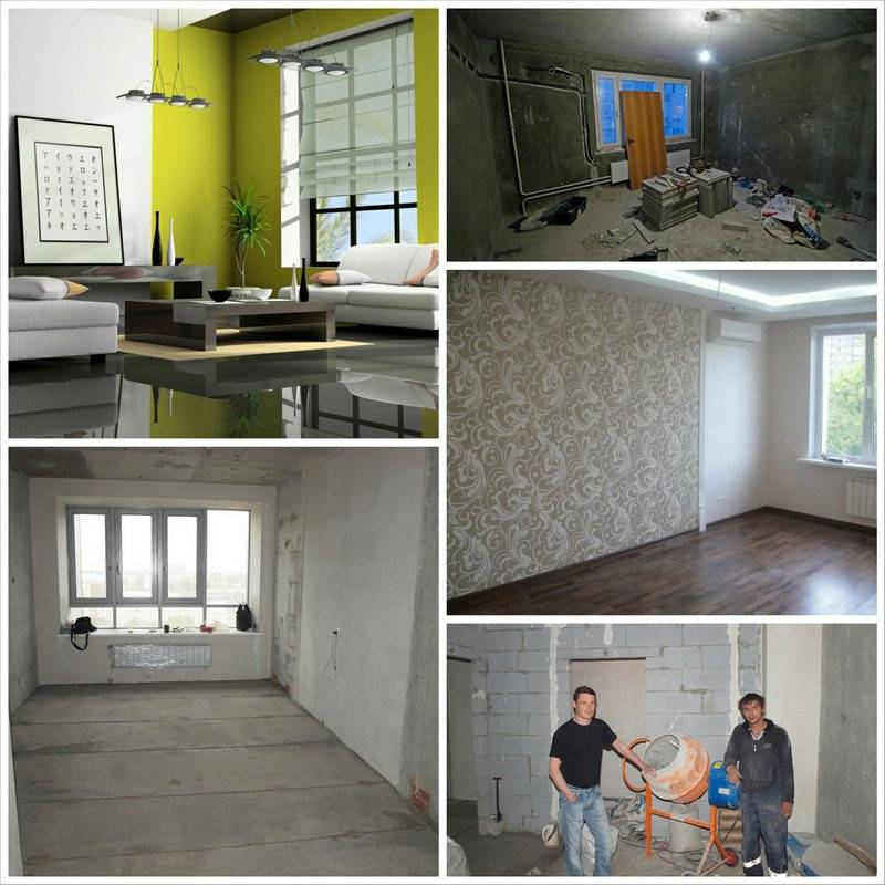 Этапы ремонта квартиры: сроки и виды работ