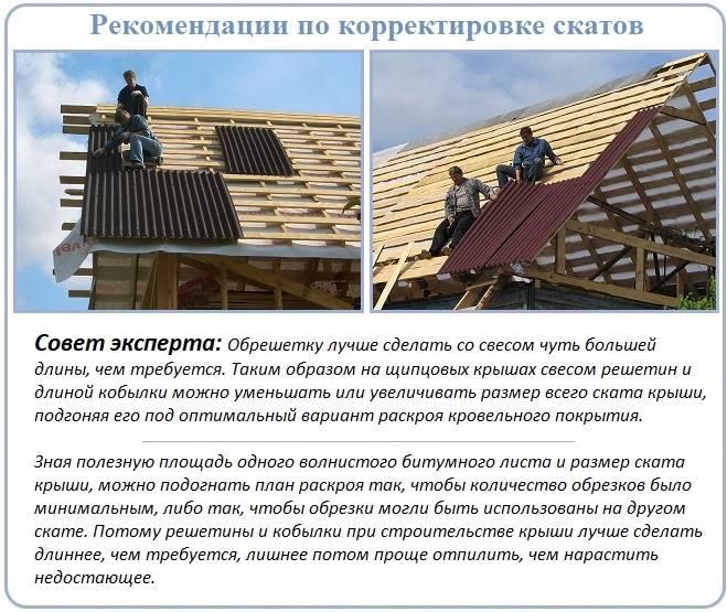 Делаем тесовую крышу из досок своими руками