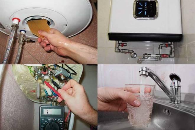 Причины неполного подогрева воды водонагревателем