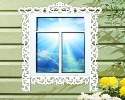 Наличники на пластиковые окна с улицы: какие лучше – металлические, пластиковые, декоративные или полиуретановые