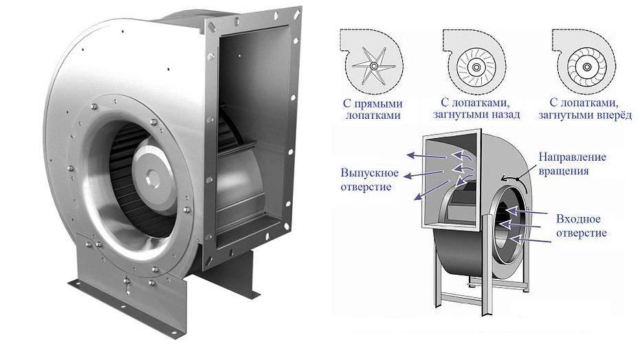 Как устроен центробежный вентилятор и обзор производителей