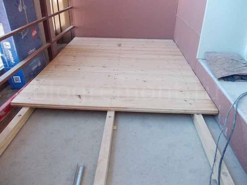Как поднять пол на балконе: методы и процесс поднятия пола на балконе своими руками