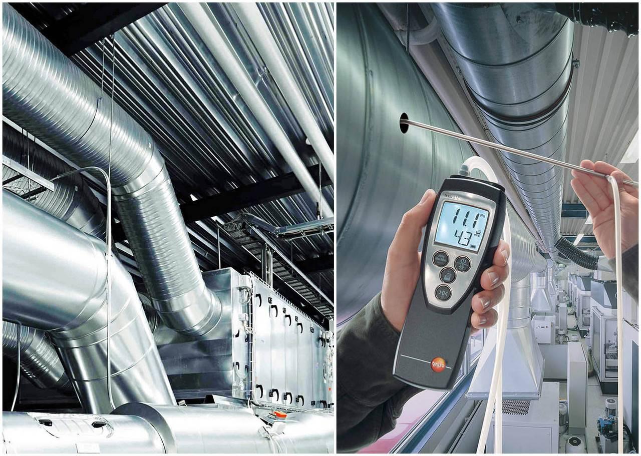 Экспертиза и обследование системы вентиляции