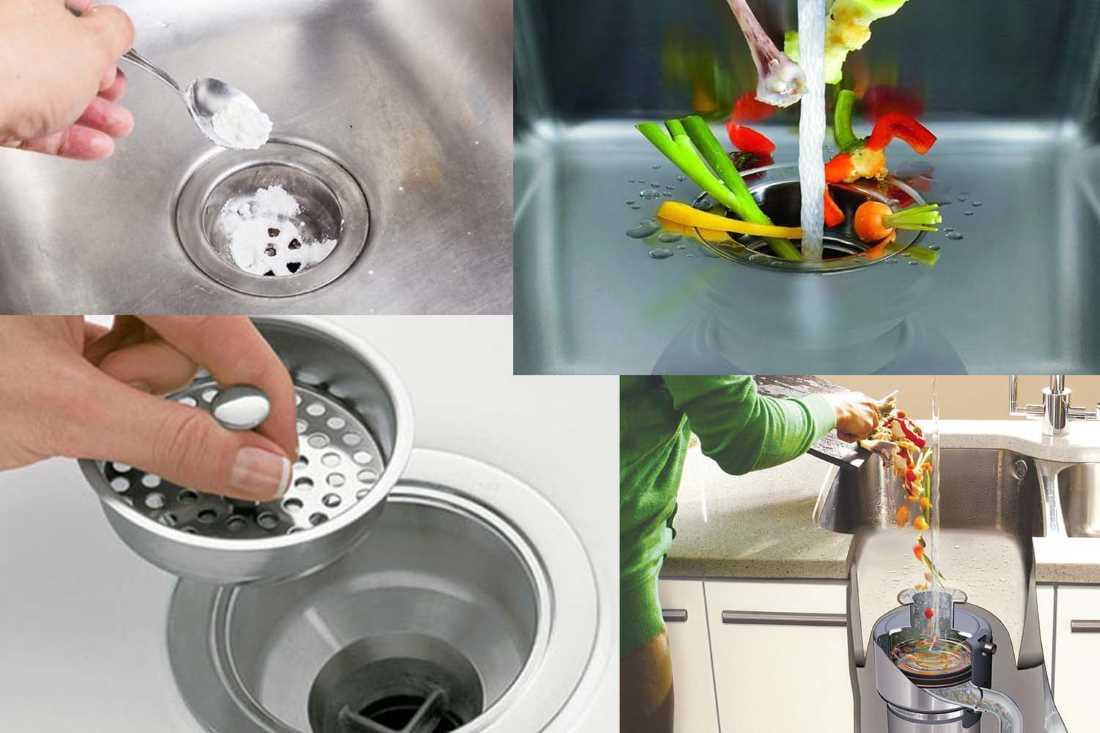 Как устранить засор в раковине на кухне в домашних условиях