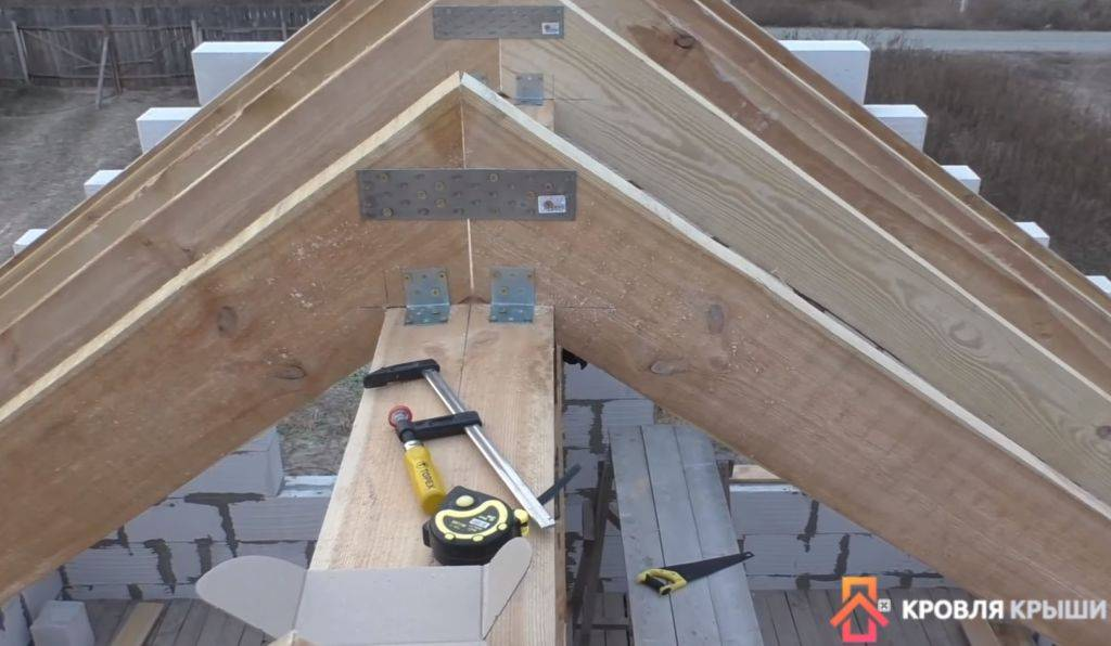 Как рассчитать и сделать двускатную крышу своими руками
