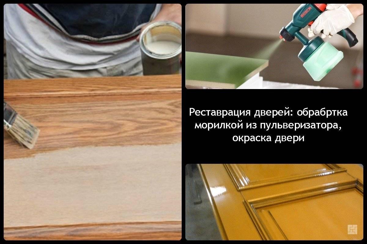 Покраска дверей - как выполнить самостоятельно?