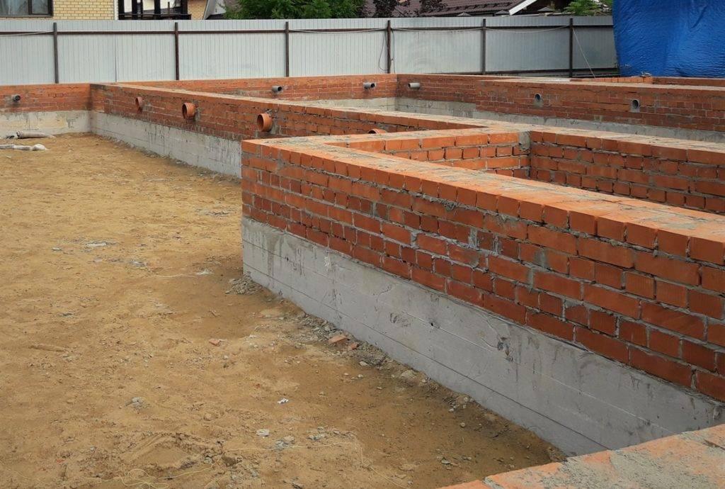 Цоколь из кирпича на ленточный фундамент: устройство, виды блоков, чем его закрыть, а также пошаговая инструкция по возведению
