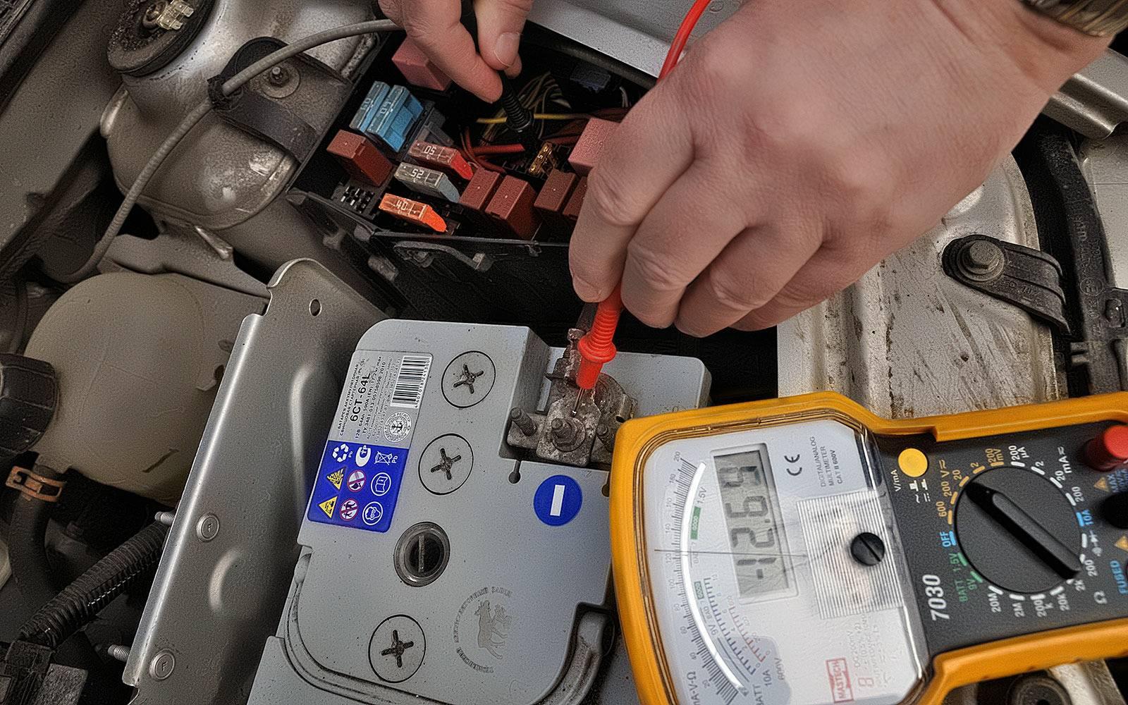 Как проверить утечку тока мультиметром