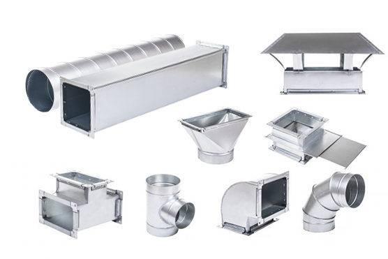 Особенности применения и установки гибких воздуховодов