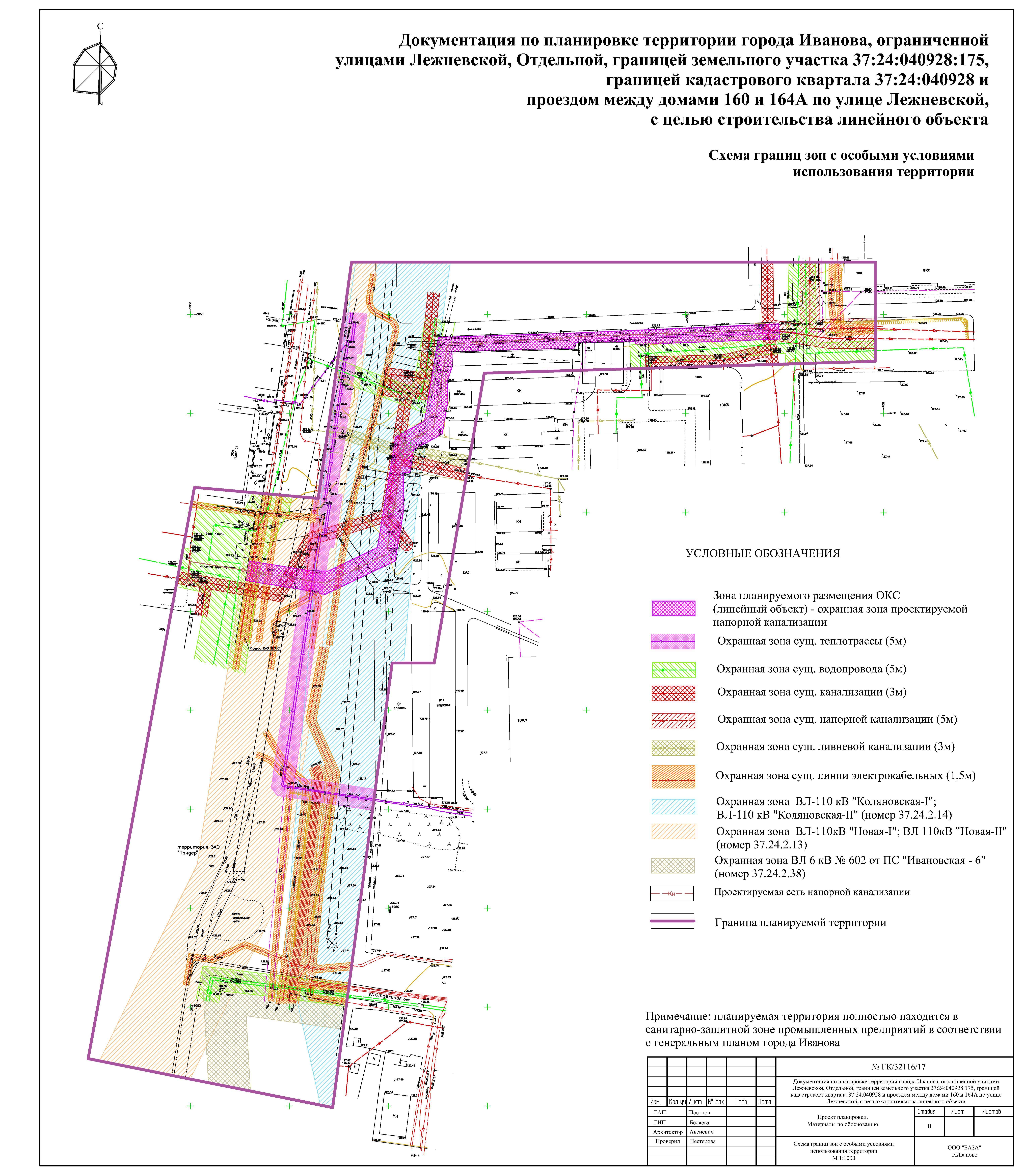 Нормы отвода земель для водопровода и канализации: ширина полосы