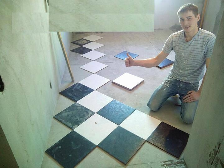 Укладка плитки по диагонали: все тонкости процесса
