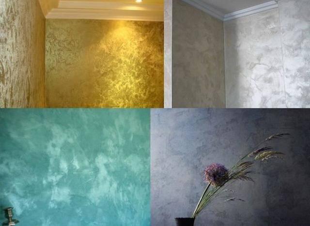 Нанесение фактурной краски: покраска стен в квартире своими руками, как покрасить валиком  и другие интересные способы