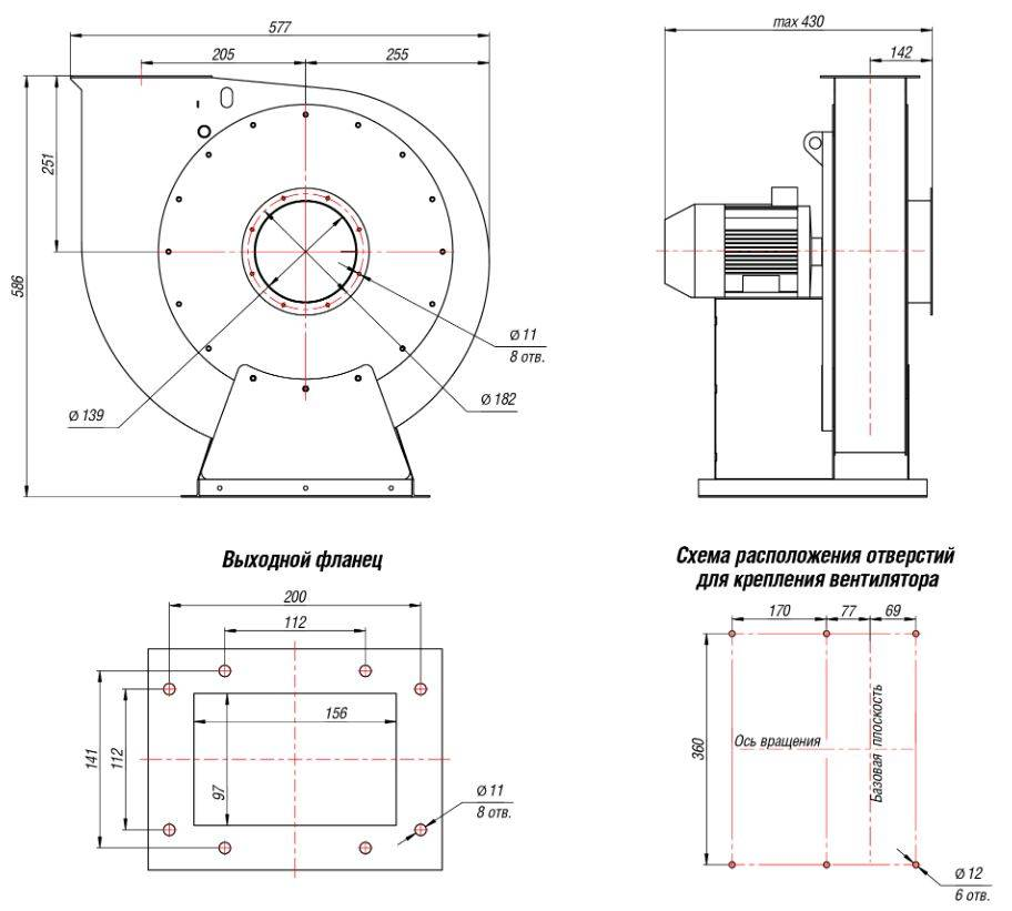 Вытяжные вентиляторы: виды, монтаж, принцип работы, расчет и подбор