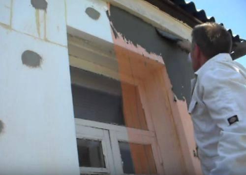Как утеплить фасад пенопластом своими руками