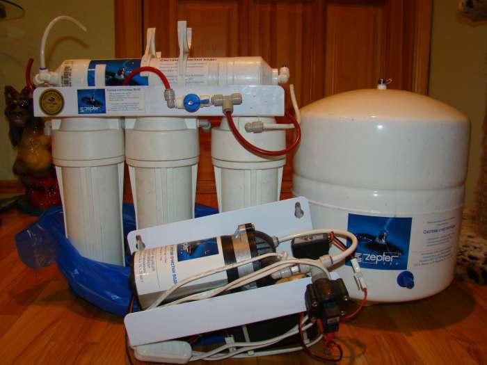 Фильтр для воды цептер: преимущества системы