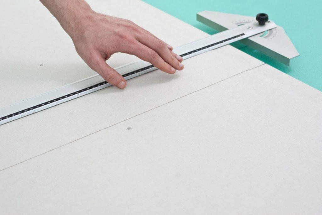 Как резать гипсокартон в домашних условиях: видео