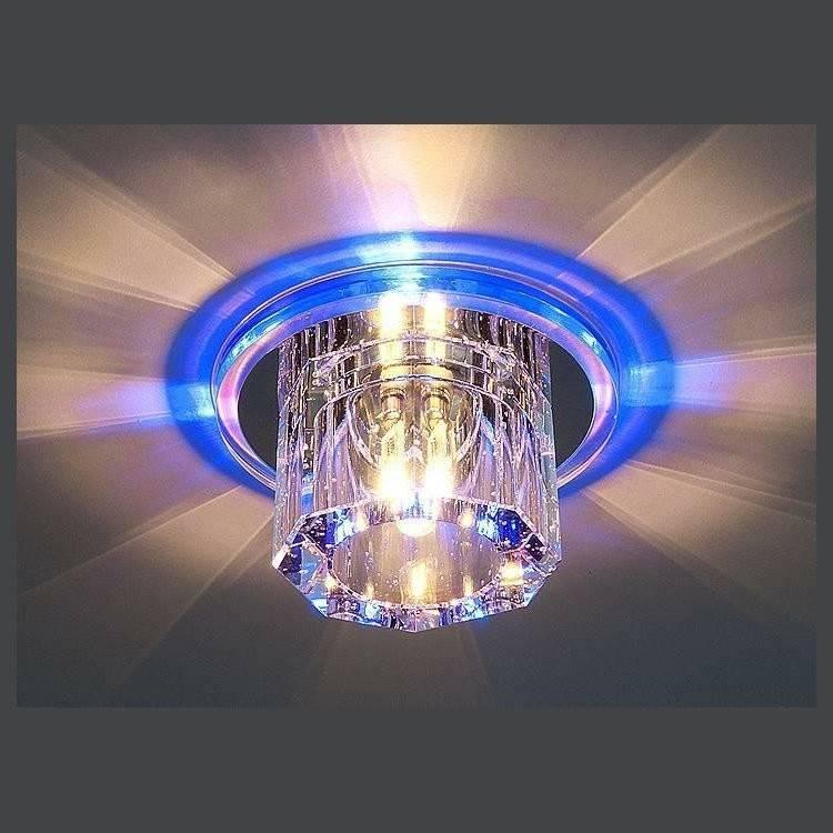 Какие светильники выбрать для натяжных потолков: светодиодные лампочки, какие светильники лучше подходят, какие бывают люстры, светодиодная лента, галогеновые лампы