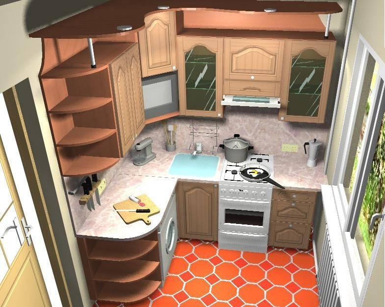 План обустройства кухни и 10 самых интересных фото