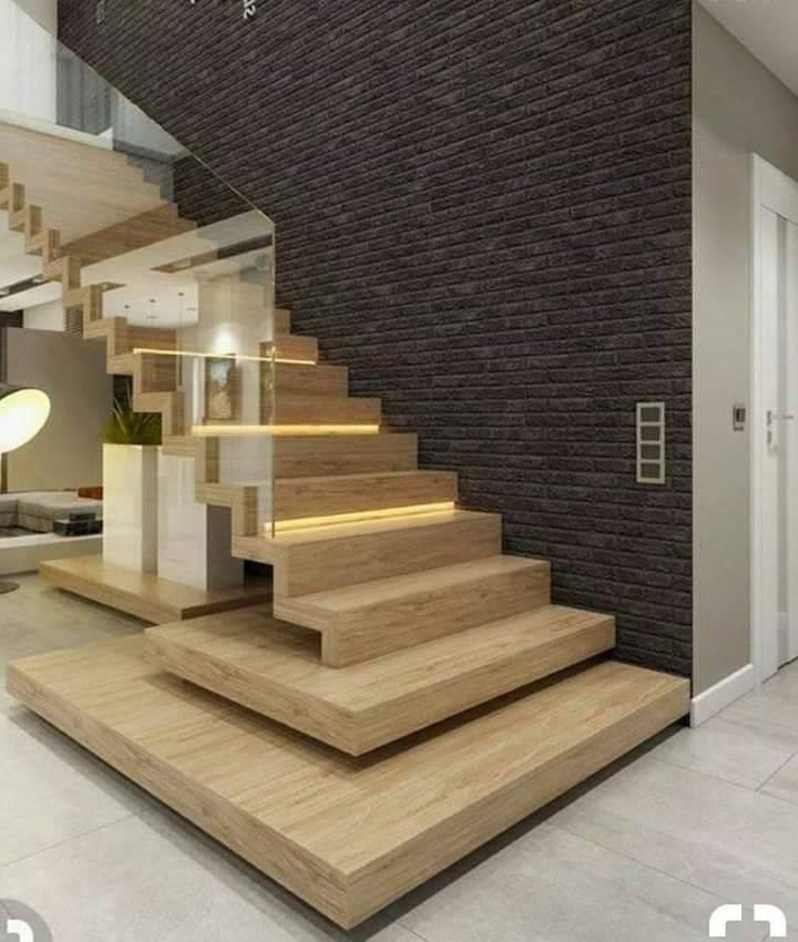 Обшивка деревом бетонной лестницы — как это делается