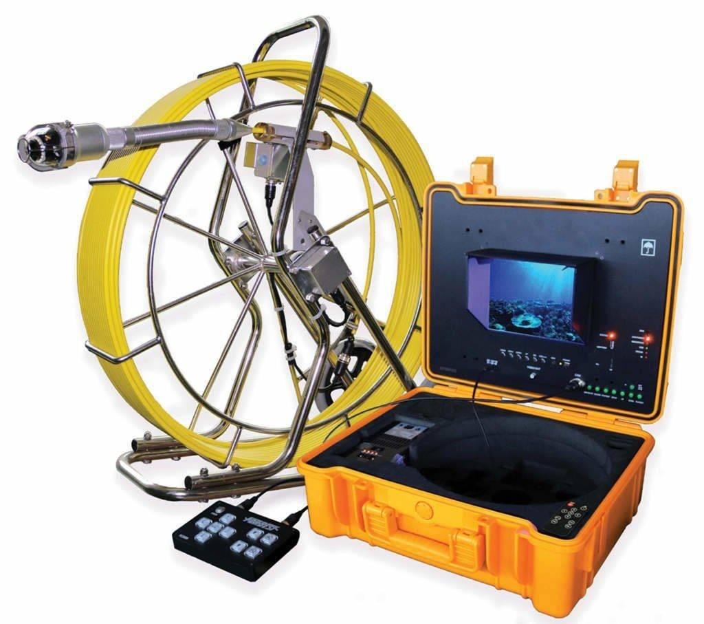 Телеинспекция канализационных труб: оборудование, видеокамеры