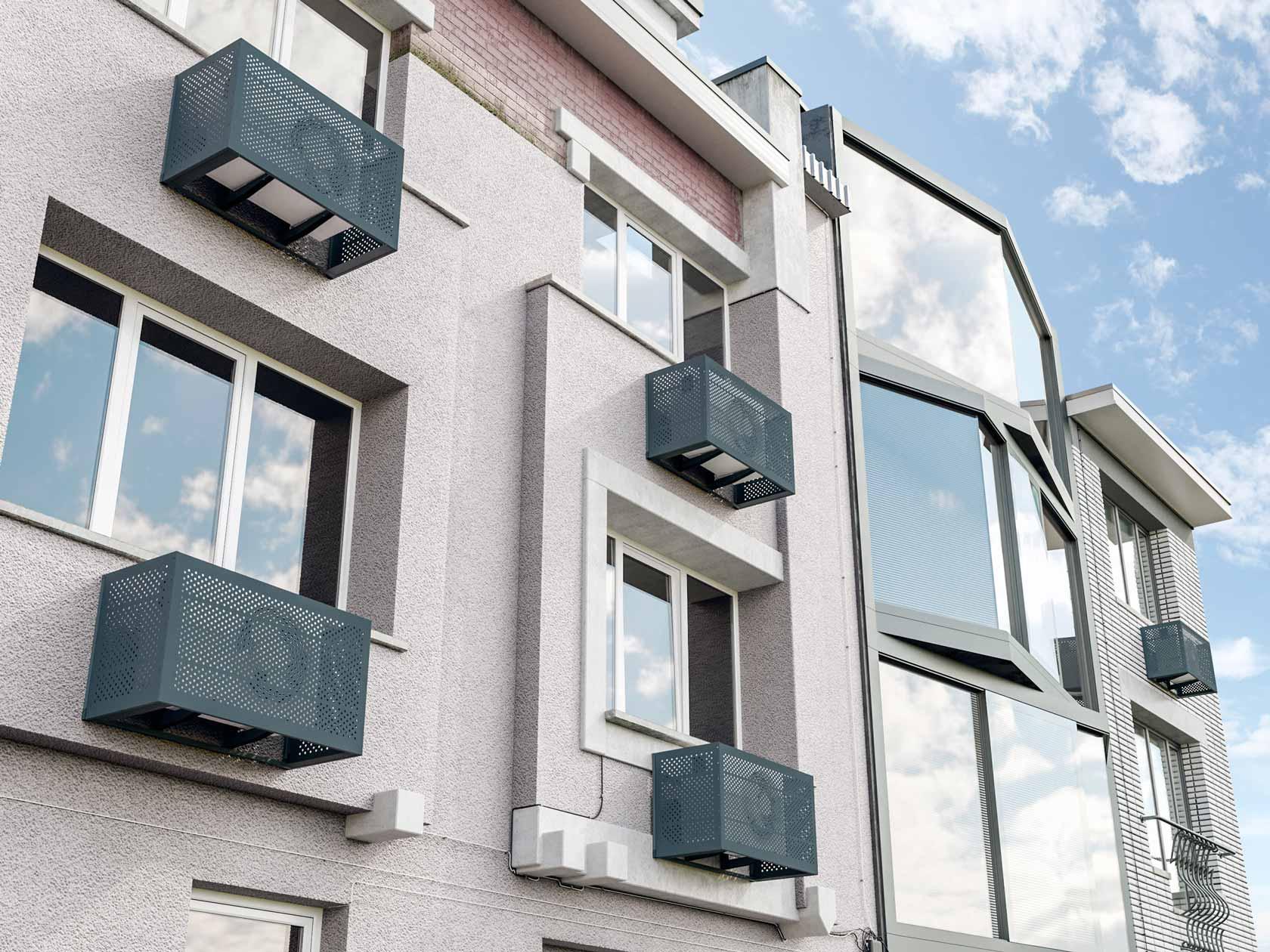 4 важных правила установки кондиционеров на фасадах зданий